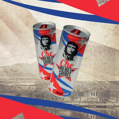 Che Rebel Spirit Energy Drink